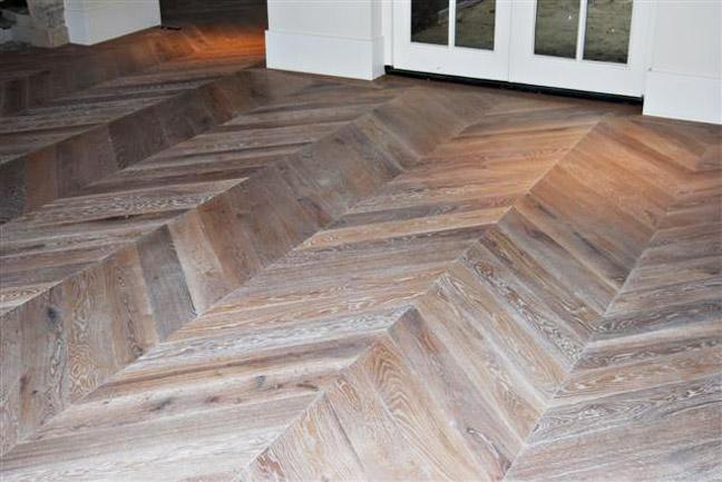 Chevron wood floor Chevron wood floor