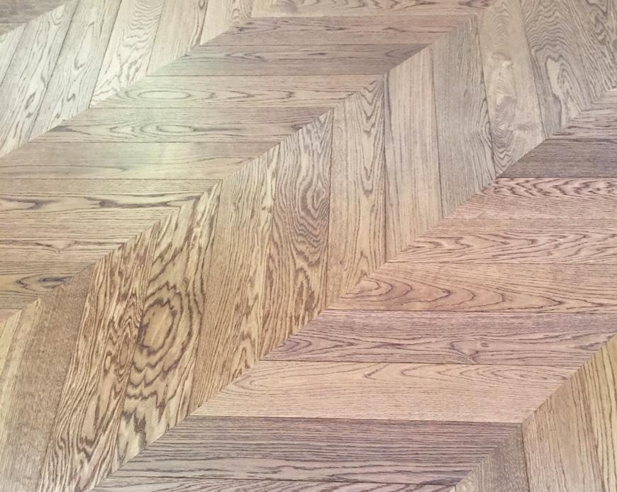 Chevron Herring Bone Vintage Hardwood Flooring Toll Free