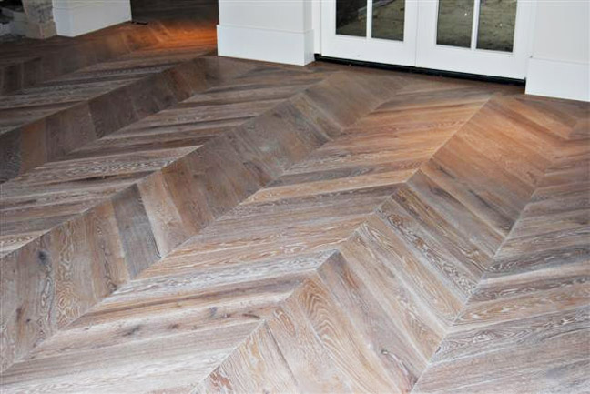 Chevron Herring Bone Vintage Hardwood Flooring Toll Free