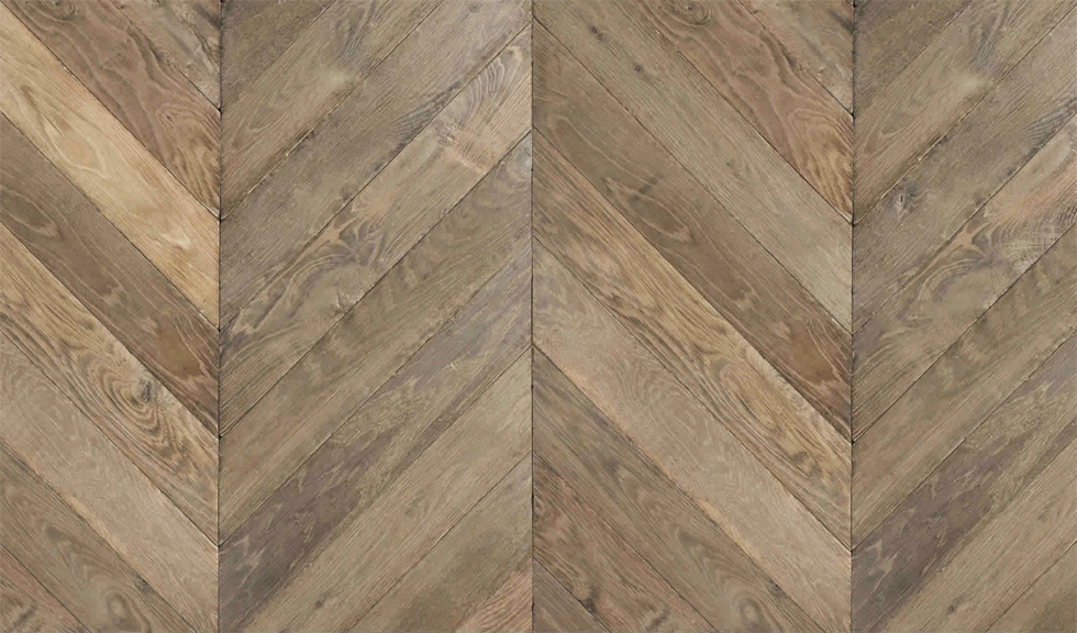Chevron Herring Bone Vintage Hardwood Flooring Toll